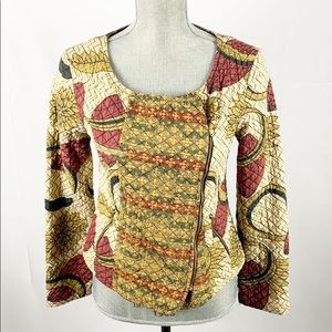Anthro Vineet Bahl Kantha Blazer Jacket Cotton XS